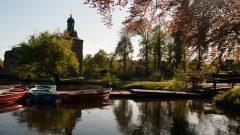 Schloss Tüschenbroich und Boote