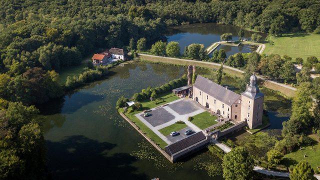Schloss Tüschenbroich Luftbild